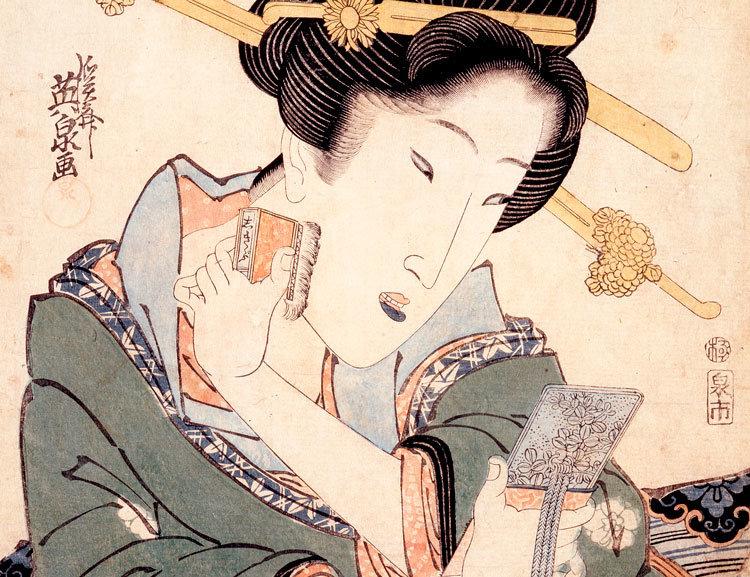 ニッポン化粧ヒストリー第5回 なぜ白い肌は美しい? 奈良時代から受け継がれた「おしろい」の美的観念