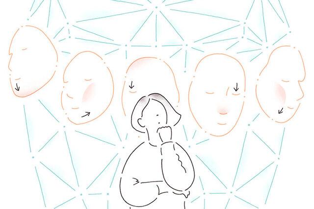 ミライビラボ「顔の角度で年齢が変わる? 顔の3D解析と年齢印象の関係」