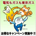電気もやっぱり東京ガス!! お得なキャンペーン実施中