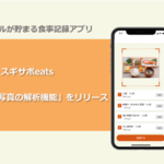 <ニュース>スギサポマイルが貯まる食事記録アプリ「スギサポeats」、AIによる「食事写真の解析機能」をリリース