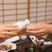 旅館で日本酒を堪能し至福のひと時を