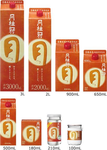 つき|商品・CM|月桂冠 ホームページ (4294)