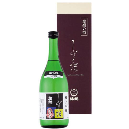 しずく媛 720ml(箱入り) - 梅錦山川株式会社 オンラインショップ (4394)
