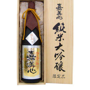 嘉美心純米大吟醸1800ml(桐箱入) :1010017:嘉美心酒造株式会社 - 通販 - Yahoo!ショッピング (4489)