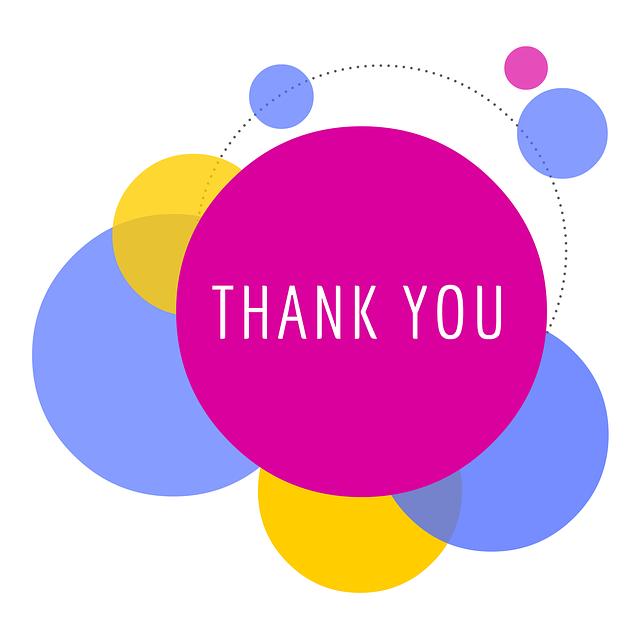 Bubbles Thank You Design · Free image on Pixabay (150)