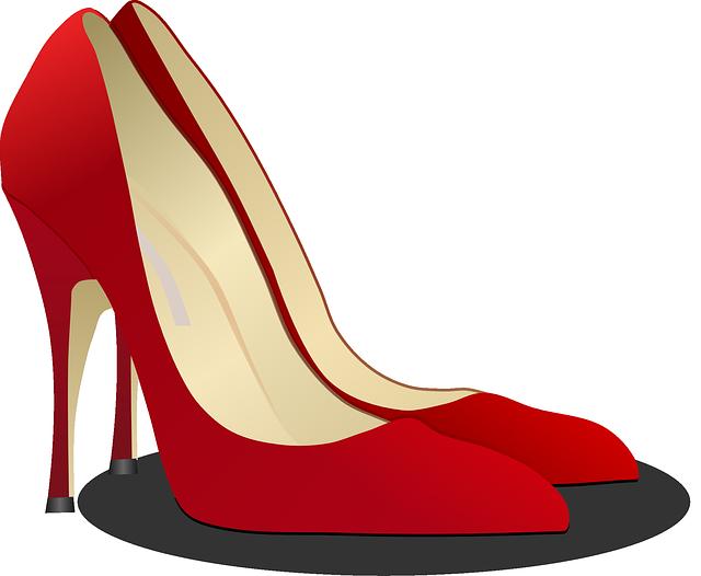 Pumps High Heeled Shoe Stack-Heel · Free vector graphic on Pixabay (3836)