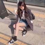 春アウターの定番「ジャケット」♡韓国女子の着こなし術まとめ♪