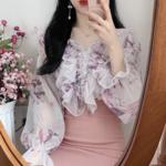"""今年の春はブラウスが流行♡韓国女子から学ぶ""""爽やかな春のブラウスコーディネート⑦選""""♬"""