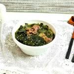 韓国人がお祝い事に食べる牛肉ワカメスープの作り方♡♡