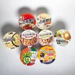 食べ比べてみた♡韓国のコンビニで人気のパスタカップ麺の味をレビュー♡
