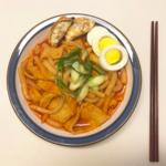 """お家で簡単に再現できちゃう韓国料理""""甘辛トッポッキ""""のレシピ☆"""