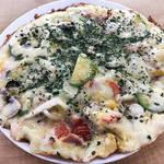 ダイエット中の一息に♡韓国人がオススメするヘルシーお家ピザのレシピ♪