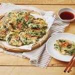 韓国人がお家でつくる『ほうれん草チヂミ』の黄金レシピ♡