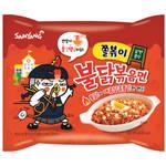 【韓国激辛カップ麺】口から火が出る辛さ!「ジョルポッキ プルダックポックンミョン」をレビュー☆