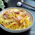 簡単に作れておやつにも最適♡韓国人の大好物『ジャガイモ炒め』黄金レシピ☆