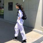 """夏ファッションに最適!""""白パンツ""""のコーディネートは韓国人を参考に♡"""