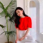 """映えるカラー""""赤""""を使った韓国っぽいコーディネートに挑戦しよう☆♪"""