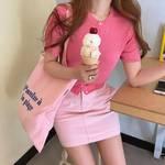 今年の夏のトレンド「韓国っぽカラートップスコーデ」を参考に♡