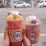"""フルーツジュース専門店「JUICY」のこの夏限定""""スイカ""""メニューをご紹介☆"""
