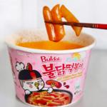 食べてないなんて損!韓国で大人気のプルダックポックンミョンのトッポギをレビュー♡