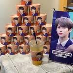 韓国のカフェで開催しているカップホルダーイベントについて☆