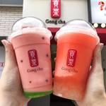 暑い夏を爽やかに!韓国人気カフェチェーン店から発売中の「スイカメニュー」に注目✩