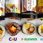韓国のコンビニで食べられる♫ 今SNSで有名なキムパプ(海苔巻き)♡