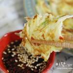 韓国キッズも大好き!「カムジャチヂミ」の簡単おいしいレシピ♡