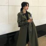 秋のオシャレは韓国女子を参考に♡トレンチコートを使ったコーデをチェック♡