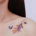 女子らしさ全開♡♡ 韓国女子に流行りのタトゥーをご紹介♬