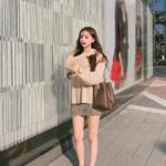 """韓国女子のお洒落で可愛い着こなし方♡""""トーン・オン・トーン""""コーデを参考にしよう♬"""