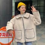 今年も大人気☆韓国女子に大人気な冬のアウターアイテム#もこもこアウター♡