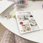 新年の新しい趣味にも♡韓国で流行りのスケジュール帳作り~♪