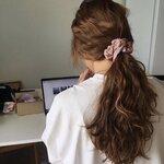 シュシュが再ブーム!?韓国女子のシュシュを使ったヘアアレンジBEST⑤をご紹介☆