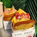 """韓国の人気サンドウィッチ専門店""""EGG DROP""""の食べるべき!おすすめメニュー"""