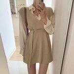 秋ファッションにおすすめ!韓国女子に人気の「ニットワンピース」コーデをご紹介♡