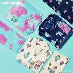 韓国ファッションブランド「SPAO」&「モンスターズインク」新作コラボパジャマが登場!