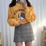 秋冬ファッションにもおすすめ!ラフに可愛く韓国風スウェットコーデ♡