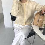 韓国女子から学ぶ春先コーデ術!❁* 春っぽくて可愛い「カーディガン」を着こなそう!♡‴