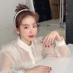 """今季大注目! """"カチューシャ""""がメインになる?韓国女子からコーデ術を学ぼう⸝⋆*"""
