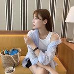 「オーバーフィットシャツ」を韓国っぽく着こなしたいなら…!韓国女子のコーデを参考に⸝⋆