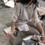 【韓国女子】の秋スタイル♡思わず振り返る「秋デートルック」に注目⸝⋆