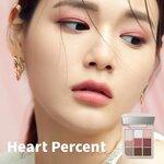 チェリーカラーが可愛い♡『Heart Percent(ハートパーセント)』から新作アイシャドウパレットが登場!
