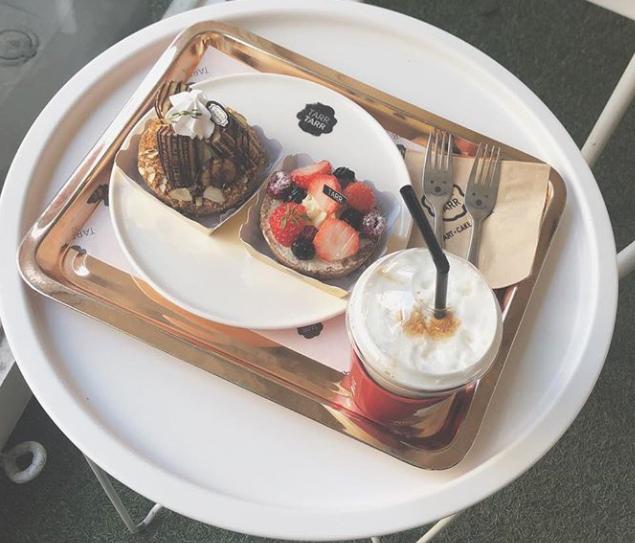 """@ok_yuuuuuchan on Instagram: """". . キルフェボン大好きだけどそれよりもっと美味しかった🤭 . タルト生地もクリームも今までで断トツおいしかった🍓🍌🍇🧁👩🏻🍳💕 . .…"""" (15631)"""