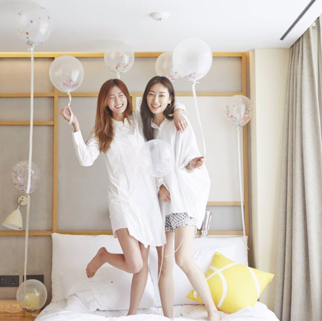 "L7_HOTELS on Instagram: ""pajama party!! #L7hotels #L7myeongdong #L7명동 #L7호텔 #party #pajamaparty #hotelparty#ソウル #L7ミョンドン #L7ミョンドンホテル #首尔 #L7明洞 #L7明洞饭店"" (34409)"