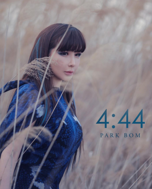 """PARK BOM (박봄) on Instagram: """"Park Bom's first teaser image for her next single '4:44' featuring MAMAMOO's Wheein — set to release on May 2nd, 2019 💙🌫 @newharoobompark"""" (45588)"""