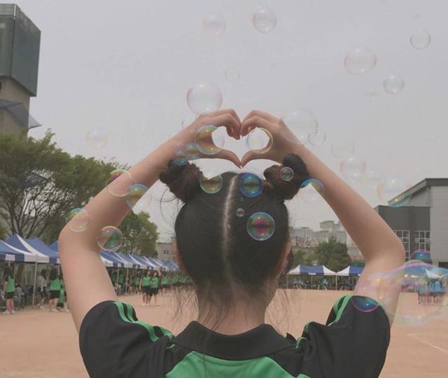 """신비(열여덟) on Instagram: """"마지막 체육대회 이제 절대 못잊어〰️#문일여고 #체육대회 #뿌까머리 #비눗방울"""" (65962)"""