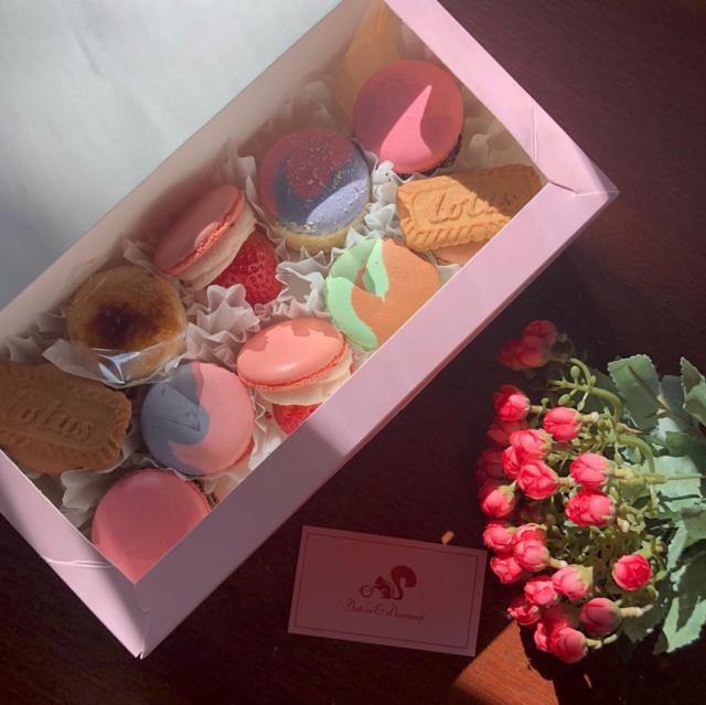 "@lee_soojung94 on Instagram: ""새로운마카롱발견👀🐿❣️#홍대 #마카롱 #macaron #도토리앤다람쥐 #instafood"" (74358)"