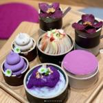 紫色デザートが人気の「カフェ歩拏(ポラ)三清本店」♡