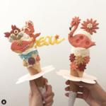 可愛いトッピングが SNSで話題のアイスクリーム店「Bistopping 新沙店」☆